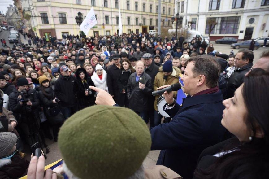 У Чернівцях побував Олег Ляшко (фото) - фото 1