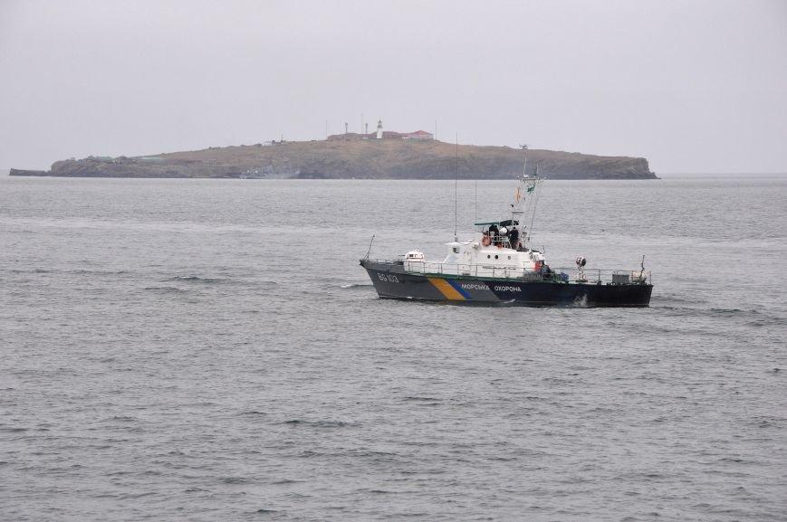 484941ed17441e79beed37403a643761 На острове Змеином одесские пограничники и военные моряки усилили оборону