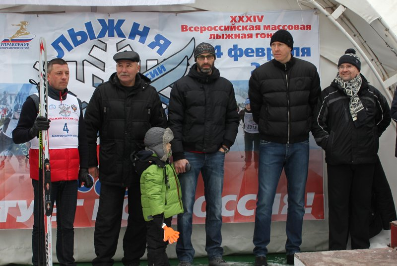 В Белгороде состоялась всероссийская массовая лыжная гонка «Лыжня России-2016», фото-2