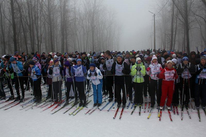 В Белгороде состоялась всероссийская массовая лыжная гонка «Лыжня России-2016», фото-3