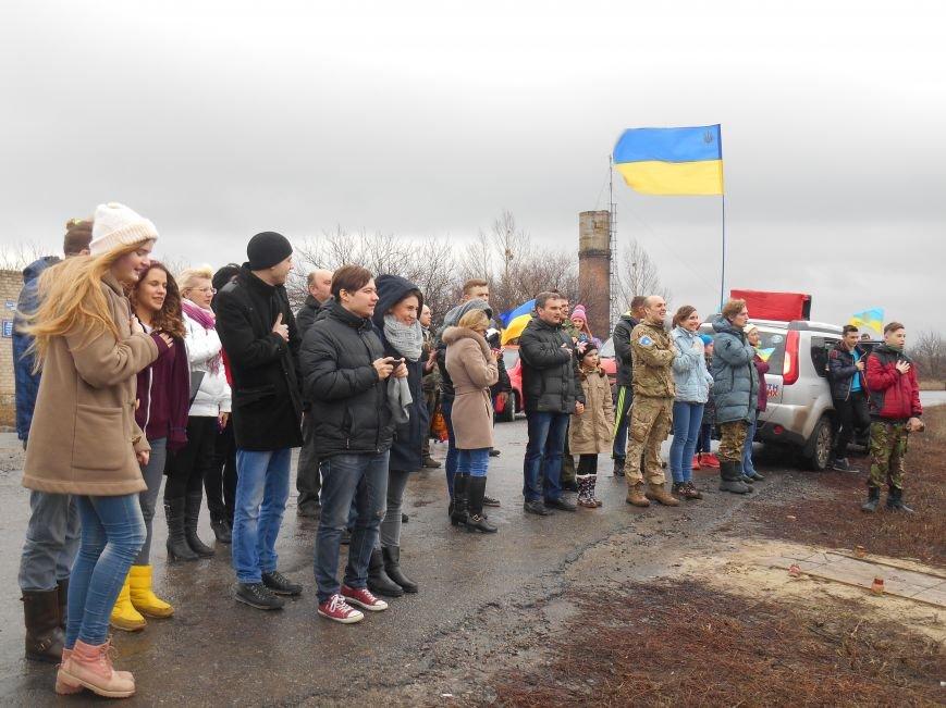 Автопробіг у Слов'янську побував у гостях на Карачуні. Привезли військовим продукти (фото) - фото 2