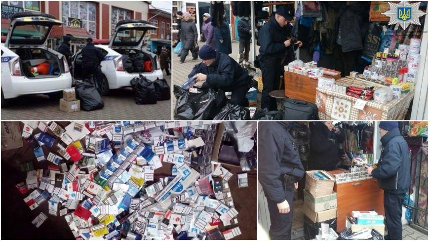 Патрульна поліція виявила факт незаконної реалізації тютюну в Хмельницькому (Фото) (фото) - фото 1