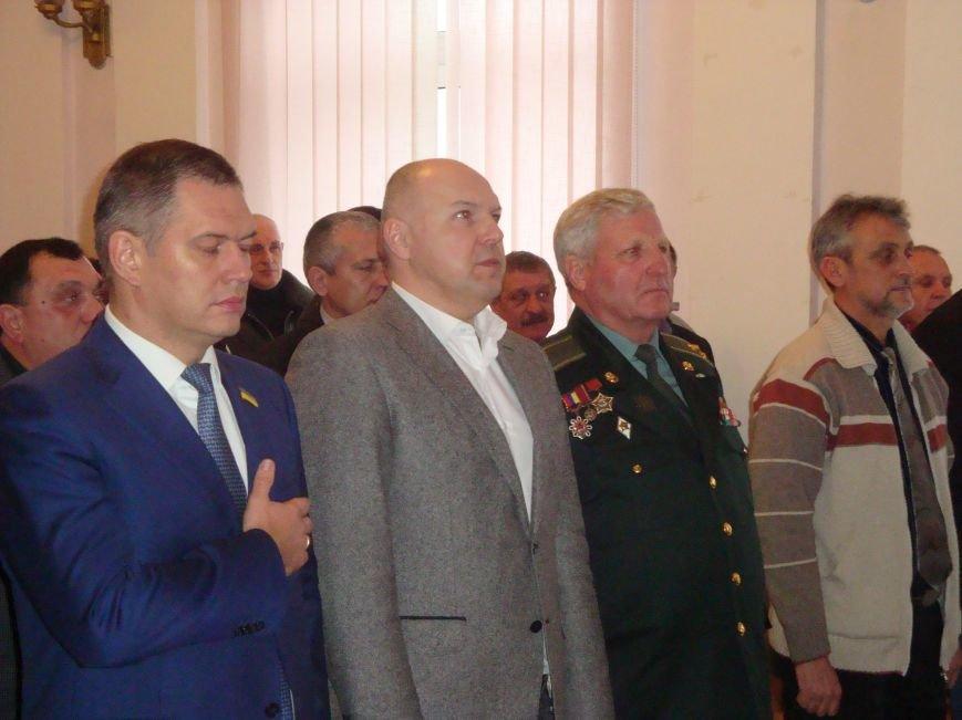 Директор николаевского тепловозоремонтного завода получил медаль от афганцев (ФОТО) (фото) - фото 1