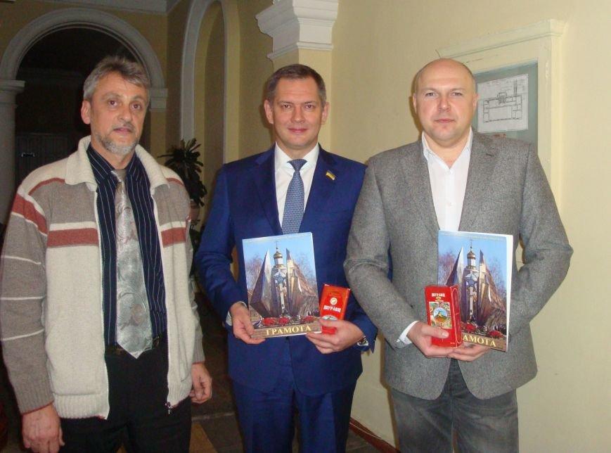 Директор николаевского тепловозоремонтного завода получил медаль от афганцев (ФОТО) (фото) - фото 3