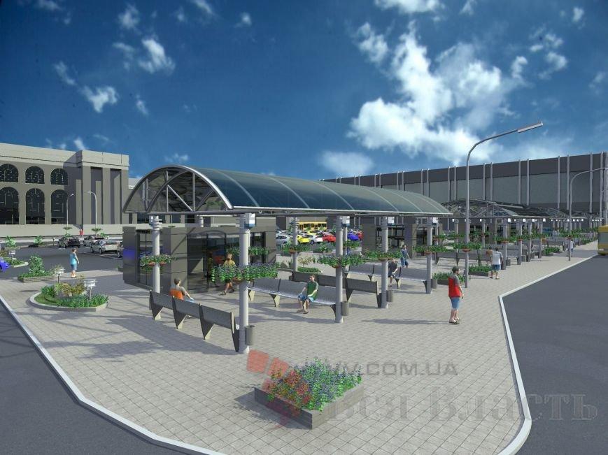 Как будет выглядеть привокзальная площадь Запорожья, - ФОТО (фото) - фото 1
