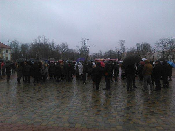 В Гродно на площади Ленина собираются предприниматели (онлайн, обновляется) (фото) - фото 3