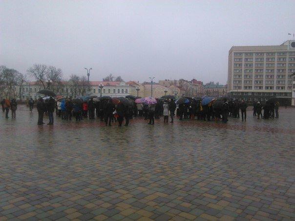 В Гродно на площади Ленина собираются предприниматели (онлайн, обновляется) (фото) - фото 5