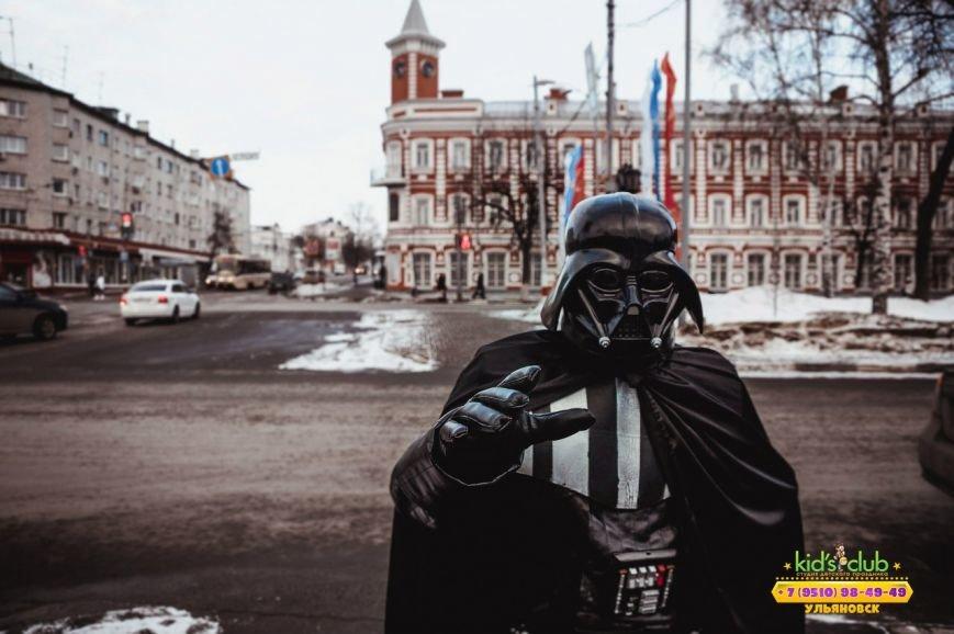 По Ульяновску гуляет Дарт Вейдер (фото) - фото 1
