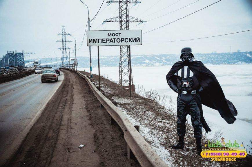 По Ульяновску гуляет Дарт Вейдер, фото-3