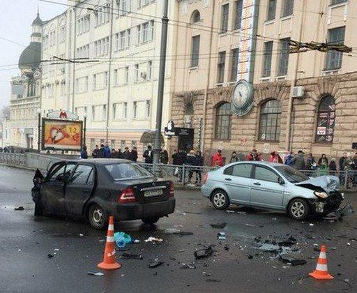 В Харькове возле