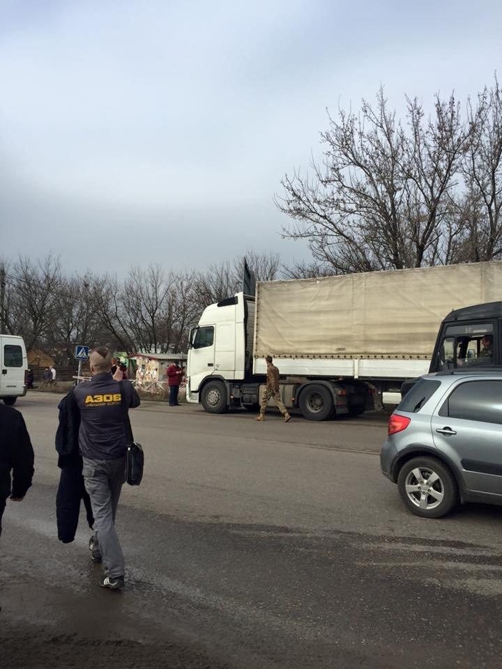 На блокаде! Задержанную под Одессой российскую фуру развернули (ФОТО), фото-3