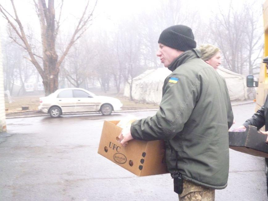 66-ому военно-мобильному госпиталю в Красноармейске луцкие волонтеры помогли автошинами, продуктами и медикаментами (фото) - фото 3