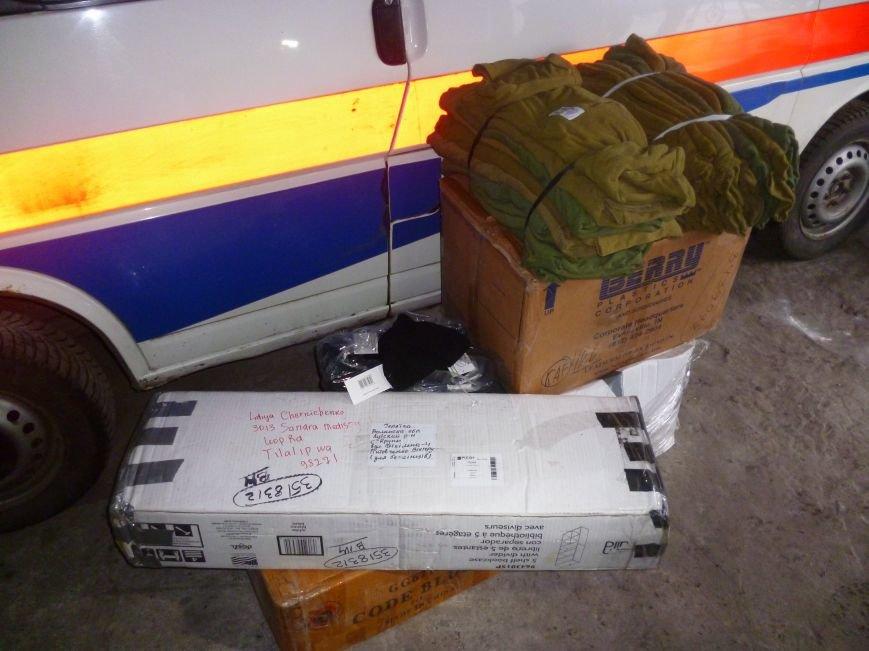 66-ому военно-мобильному госпиталю в Красноармейске луцкие волонтеры помогли автошинами, продуктами и медикаментами (фото) - фото 11
