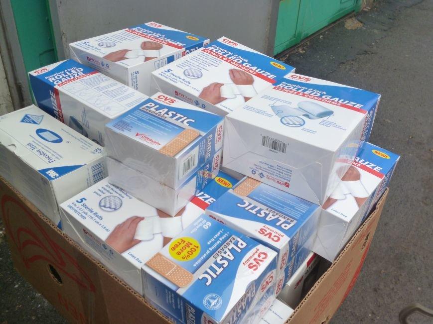 66-ому военно-мобильному госпиталю в Красноармейске луцкие волонтеры помогли автошинами, продуктами и медикаментами (фото) - фото 8
