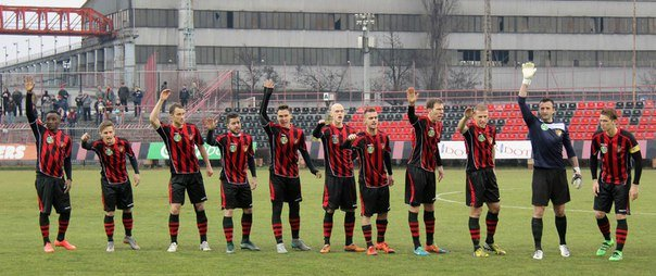 Ужгородські футболісти дебютували у Вищій Лізі Угорщини (фото) - фото 1