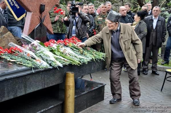 В Ялте прошла акция памяти погибших во время афганской войны, фото-6