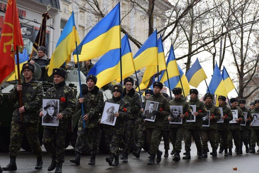 Ветераны-афганцы прошлись по Николаеву мемориальным маршем (ФОТОРЕПОРТАЖ) (фото) - фото 1