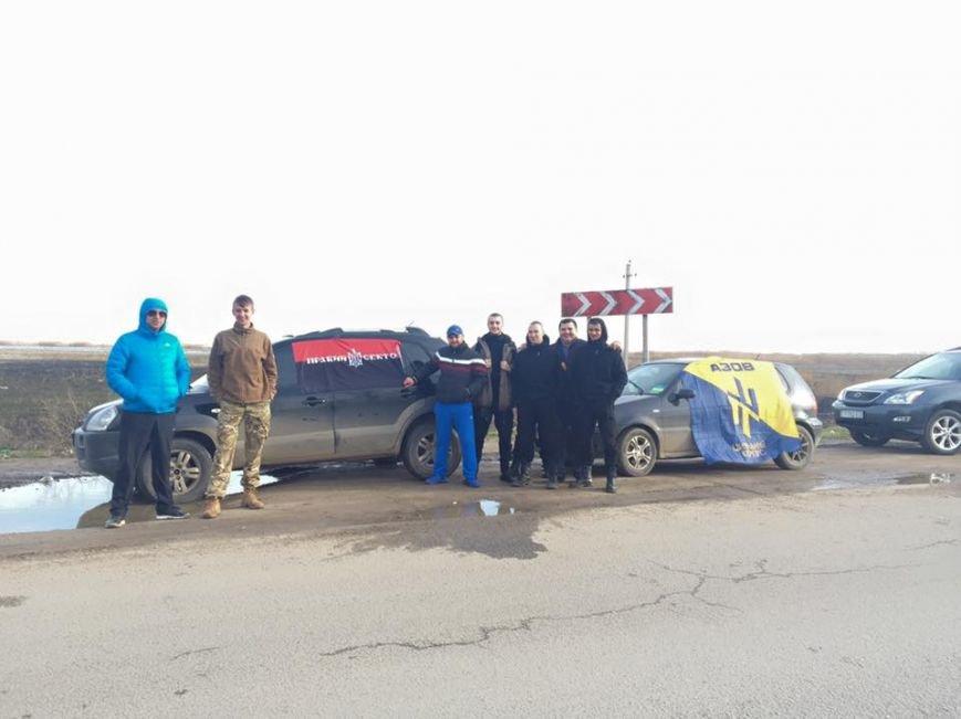 Блокада российских фур: Одесские активисты развернули два блокпоста (ФОТО) (фото) - фото 1