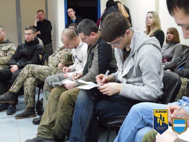 Кременчужане научились вести вести бой и защищать здания (ФОТО) (фото) - фото 1