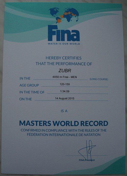 В Гродно прошел Шестой открытый чемпионат по плаванию в категории «Мастерс» (фото) (фото) - фото 3