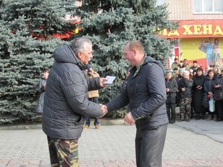 В Новоград-Волынском прошли торжества в честь афганцев, фото-10