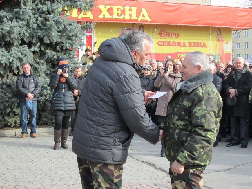 В Новоград-Волынском прошли торжества в честь афганцев, фото-11