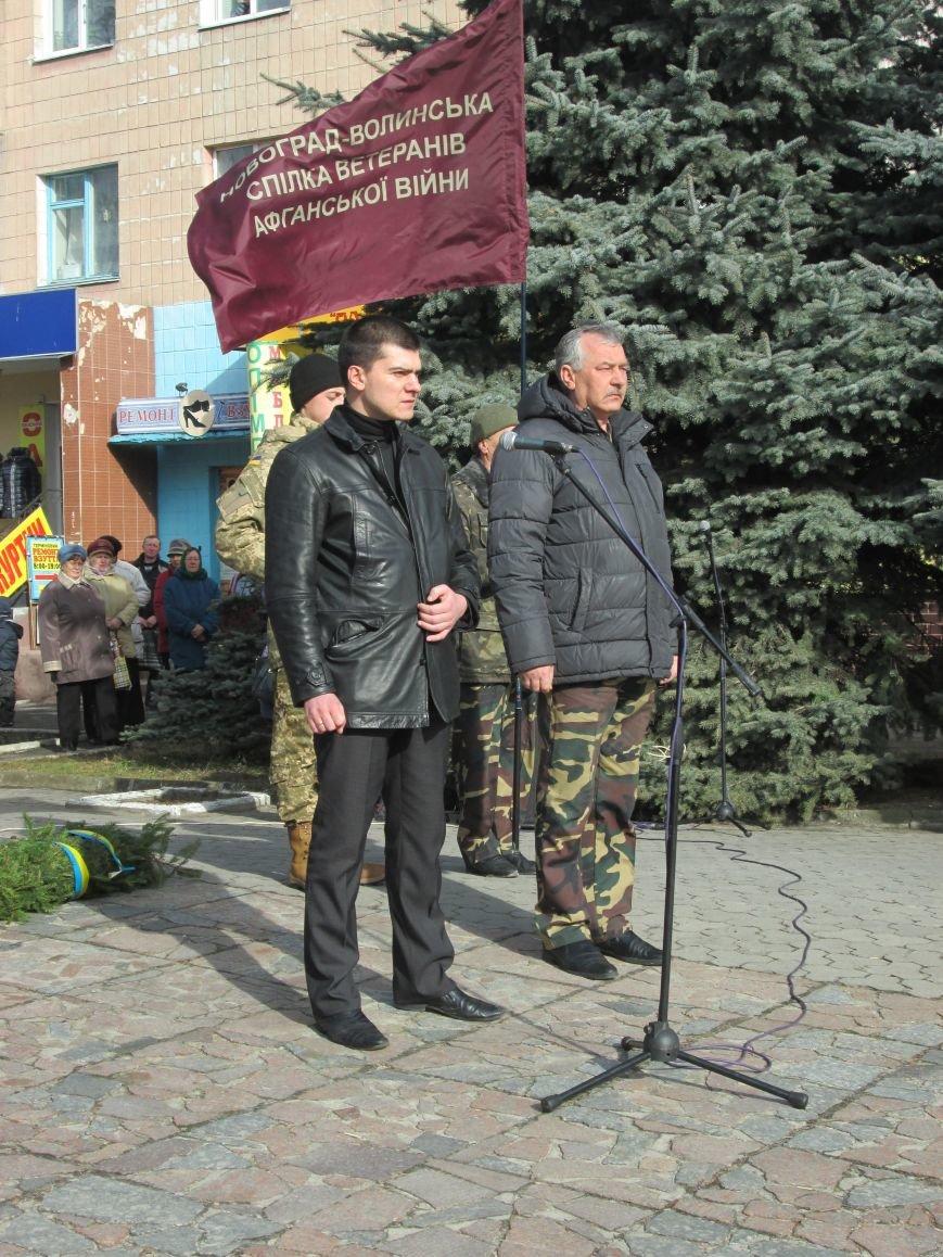 В Новоград-Волынском прошли торжества в честь афганцев, фото-7