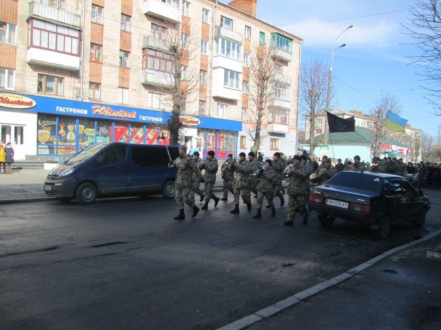 В Новоград-Волынском прошли торжества в честь афганцев, фото-1