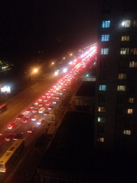 На Набережной Победы автобус перегородил 4 полосы (ФОТО) (фото) - фото 2