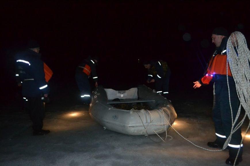Под Киевом 11 рыбаков уплыли на льдине (ФОТО), фото-2