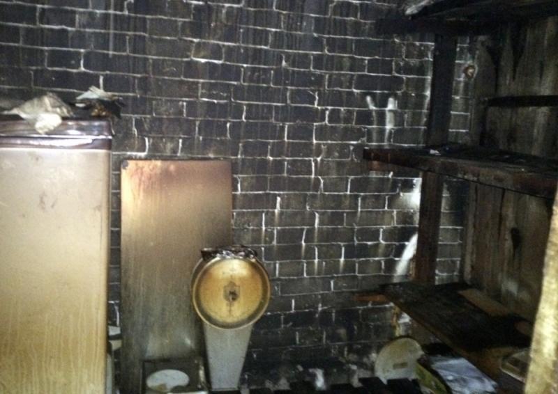 В Ульяновской области сгорел магазин, фото-1