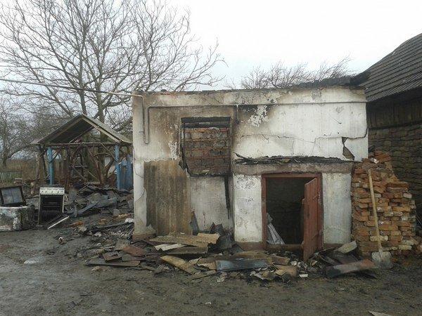 На Тернопільщині через коротке замикання виникла масштабна пожежа (фото) (фото) - фото 1