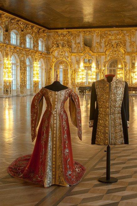 В Царском Селе отреставрировали кокошник дочери Николая II и платье фрейлины, фото-1