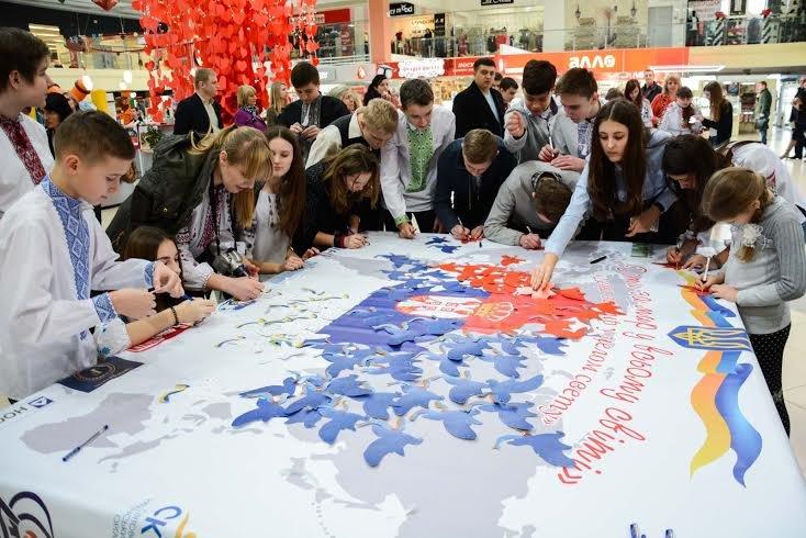 """""""Карта миру"""" з Тернополя подорожуватиме країнами Європи (фото), фото-1"""