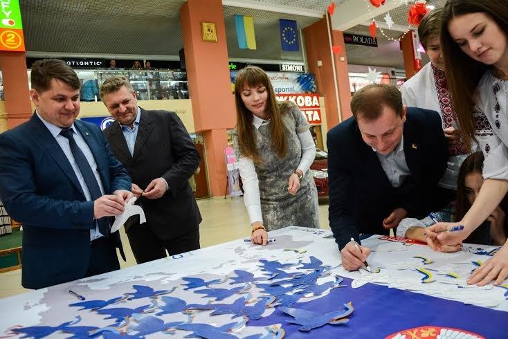 """""""Карта миру"""" з Тернополя подорожуватиме країнами Європи (фото), фото-2"""