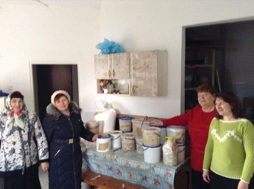 Тернополяни тішать бійців домашньою їжею (фото) (фото) - фото 1