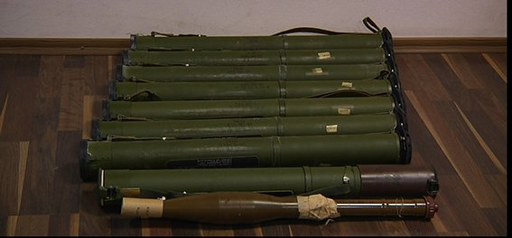 В Днепропетровске возле объездной дороги обнаружили гранатометы и гранаты (ФОТО) (фото) - фото 1