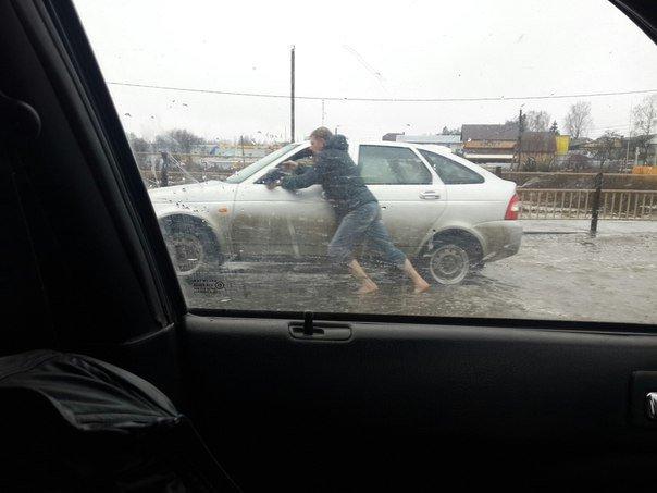 Жители Брянская рассказали, как тонули из-за дождей (фото) - фото 4