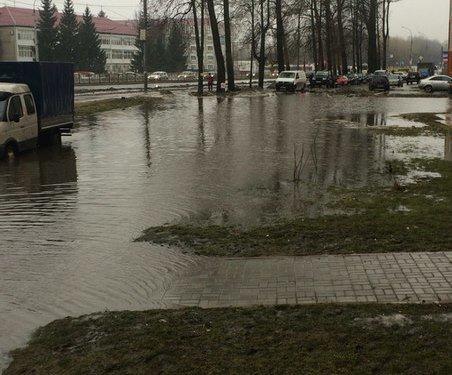 Жители Брянская рассказали, как тонули из-за дождей (фото) - фото 7