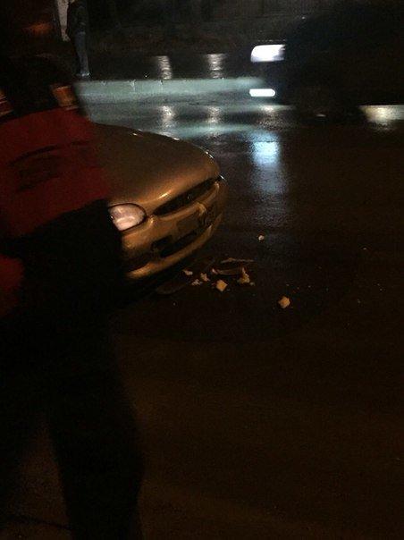 У Тернополі зіткнулися легковик і тролейбус (фото) (фото) - фото 1