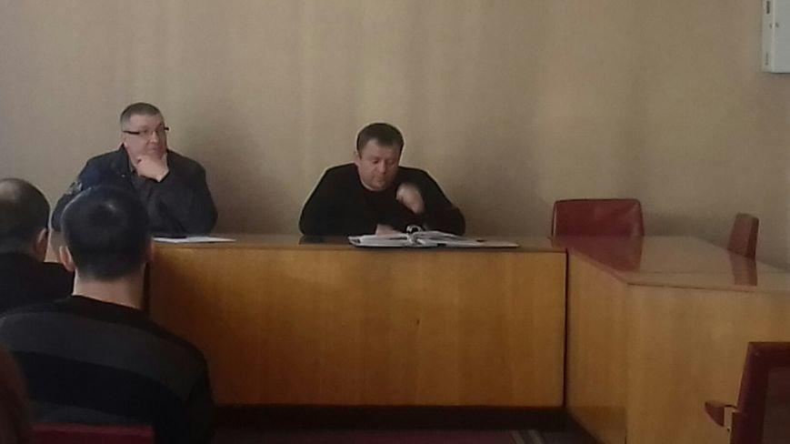 Члены Криворожского горизбиркоома собрались на заседание (ФОТО) (фото) - фото 1