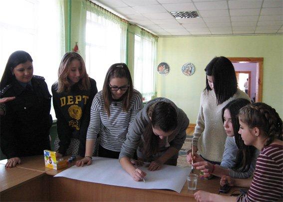 Правоохоронці провели зустріч з учнями школи-інтернату (ФОТО) (фото) - фото 1