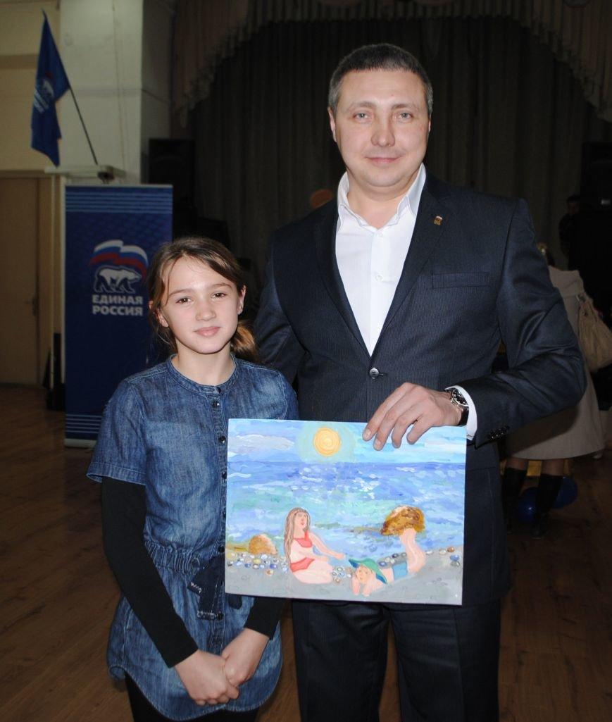 В Симеизе наградили победителей конкурса рисунка «Мир, в котором я живу», фото-1