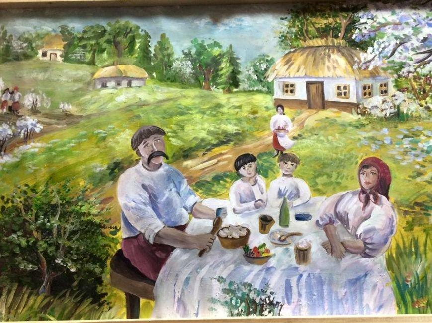 Юні буковинські художники віддали свої роботи волонтерам для допомоги військовим, фото-3