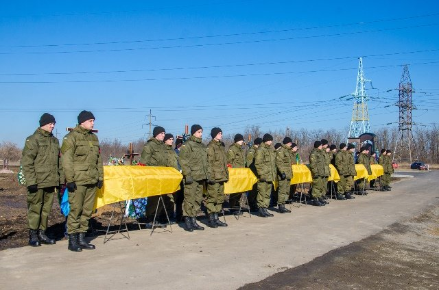 В Днепропетровске похоронили еще семерых бойцов АТО (ФОТО), фото-5