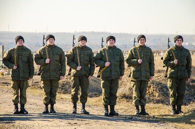 В Днепропетровске похоронили еще семерых бойцов АТО (ФОТО), фото-1