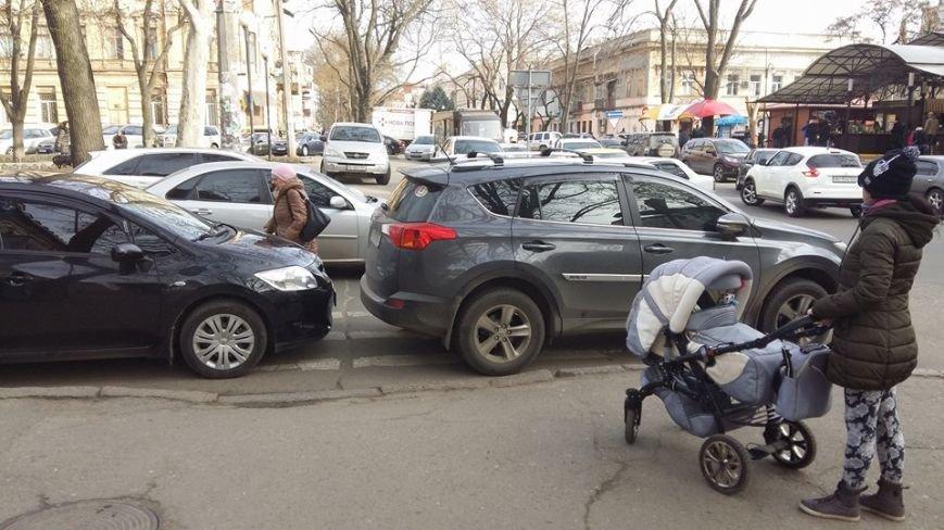 9e1d68c68c5ac881b8fbbf7f099ae19f Автохамы в Одессе не дают ни проехать, ни пройти