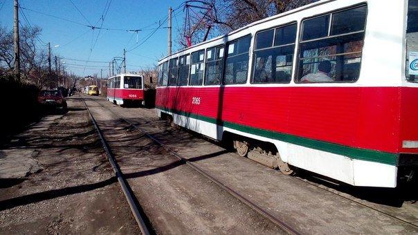 В Николаеве трамвай