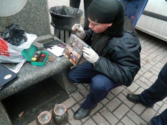 На Крещатике задержали мужчину с наркотиками (ФОТО) (фото) - фото 1