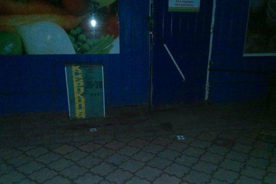 На Полтавщине неизвестные утащили банковский терминал с магазина (фото) - фото 1